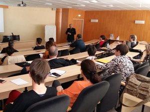 Une trentaine de personnes ont été sensibilisées ce jeudi à la CCI de Rodez.