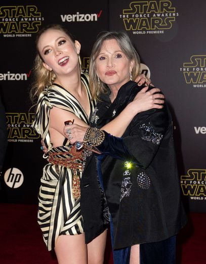 """Star Wars: L'ascension de Skywalker"" réunira Carrie Fisher, disparue en 2016, et sa fille Billie Lourd"