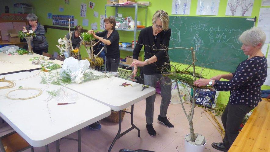 Des cours d'art floral pour donner libre cours à la créativité