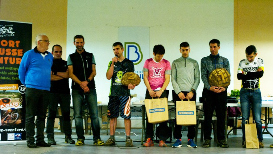 Les vainqueurs étaient félicités par Jean-Luc Calmely, maire de Bozouls.