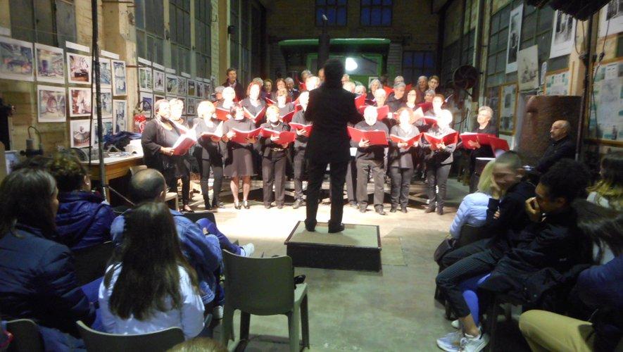 Les choristes et le public ont vécu une belle et émouvante soirée.