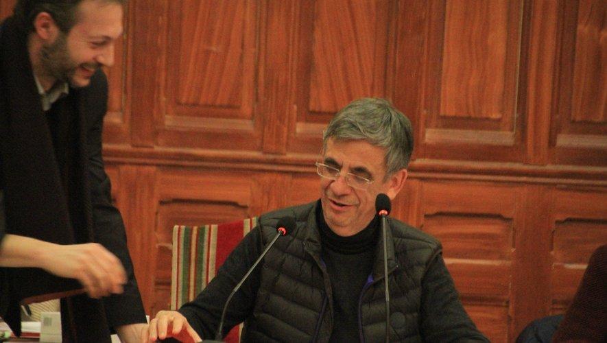 C'est Laurent Tranier qui a présenté les comptes administratifs.