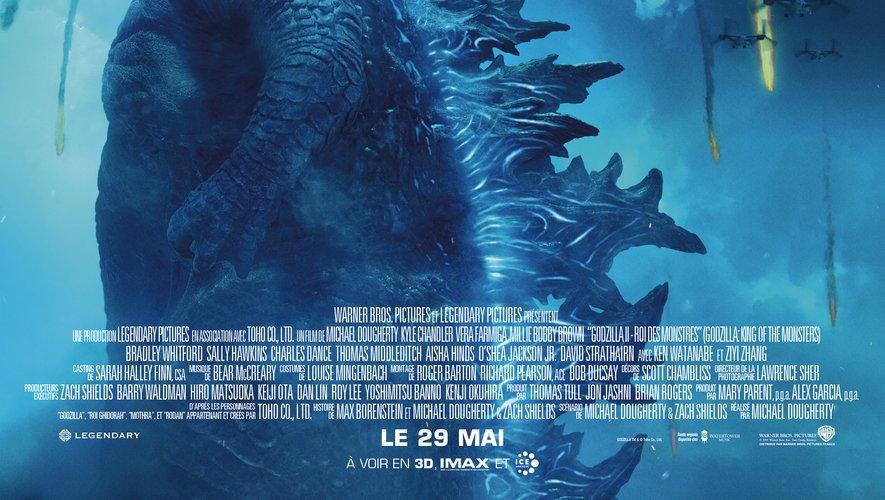 """Godzilla II roi des montres"" arrive le 29 mai au cinéma"