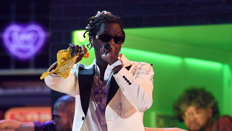 Le rappeur d'Atlanta Young Thug lors de la 61ème cérémonie des Grammy Awards, le 10 février 2019, à Los Angeles
