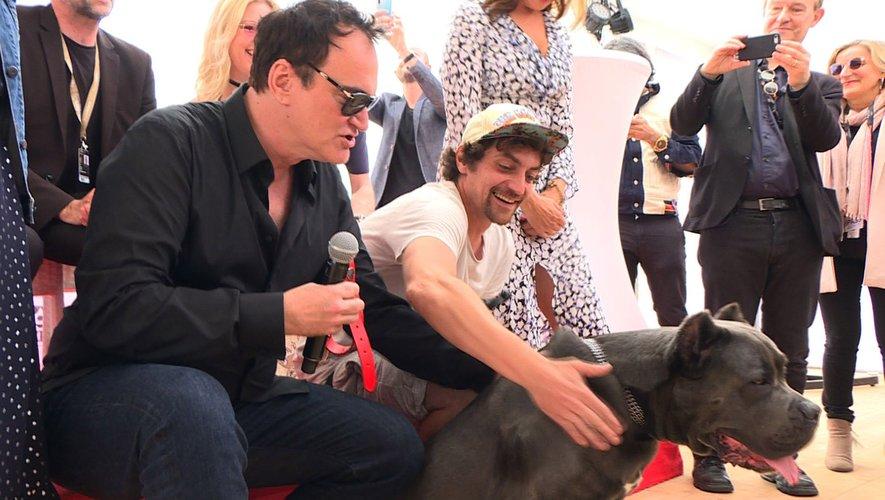 Quentin Tarantino remporte la Palm Dog à Cannes
