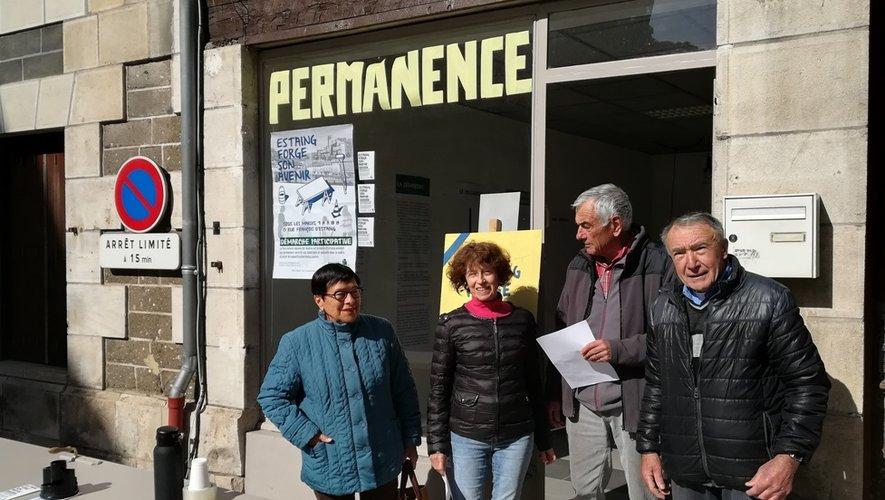 La permanence est située au 13, rue François d'Estaing.
