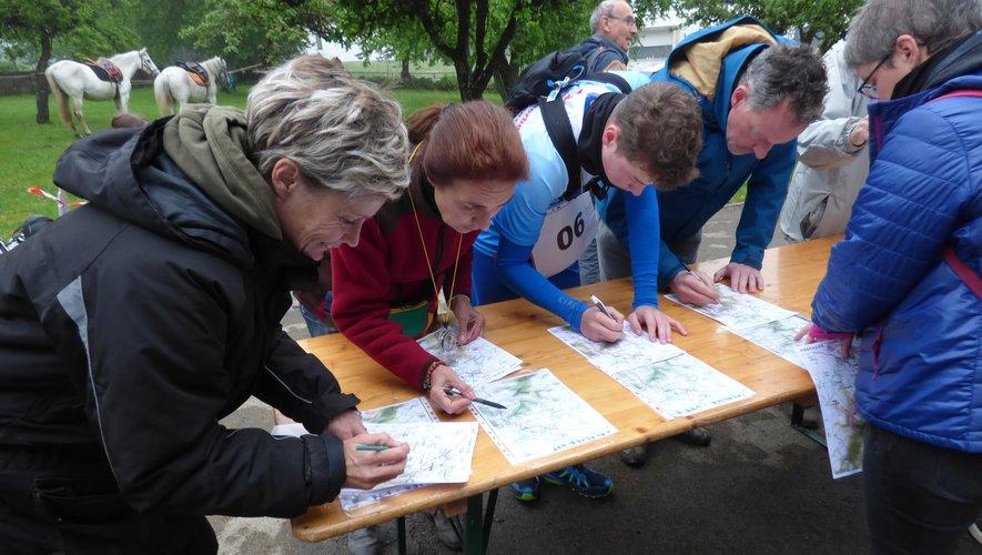 Les participants avant le départ.