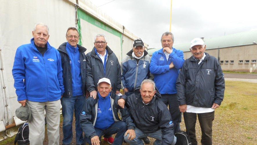 L'équipe d'Agnac (3e division, poule B).