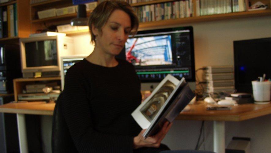 « Je ne suis pas historienne,j'ai donc fait un livre visuel », défend Delphine Trébosc.
