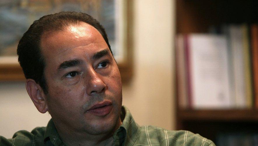 """Khaled Al Khamissi, directeur général de la Bibliothèque publique du Grand Caire et auteur de deux romans traduits dont """"Taxi"""""""