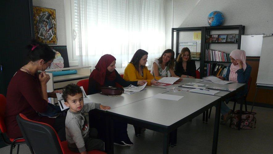 Un atelier parents très participatif avec Agnès Verdier.