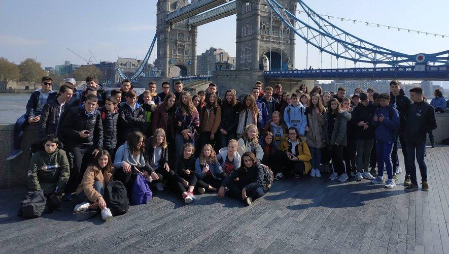 Les élèves de Jean-Amans à Londres