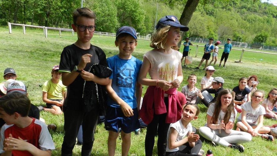 Plusieurs écoles au rassemblement Prim'air nature