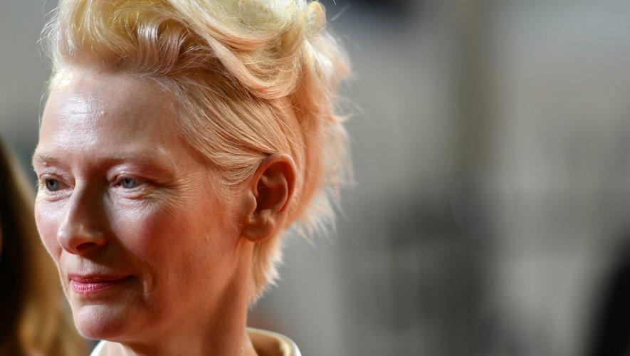 Tilda Swinton au festival de Cannes, le 21 mai 2019