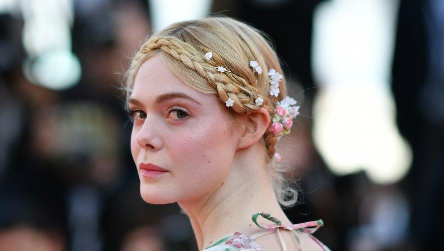 Elle Fanning au festival de Cannes, le 15 mai 2019