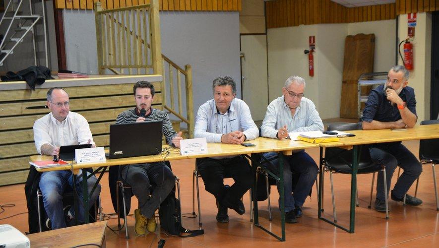 Le programme du chantier a été présenté lors d'une réunion publique