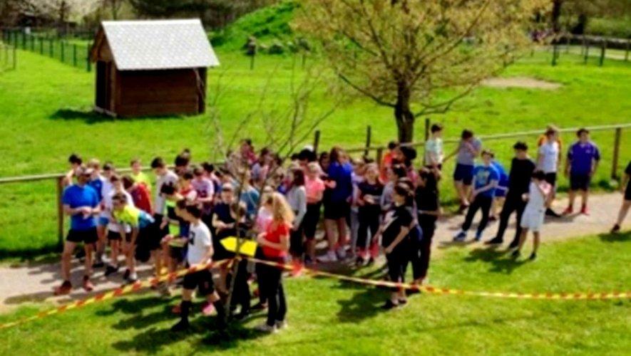 Grand succès au Cross Parraine organisé par le collège Denys-Puech
