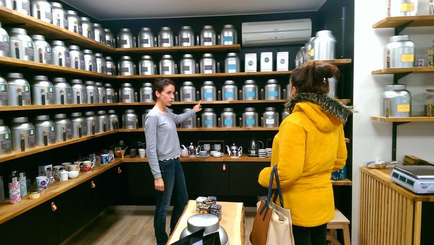 Des thés du monde entier proposés par Audrey Barroso.