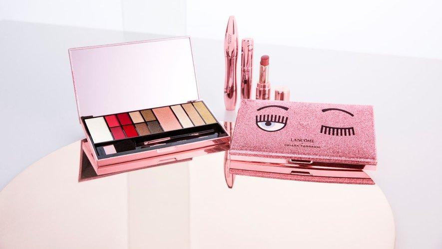 Lancôme et Chiara Ferragni dévoilent le fruit de leur collaboration : une collection de maquillage au design audacieux.
