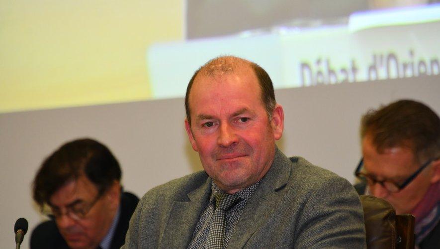 André At au conseil départemental dont il est le premier vice-président.