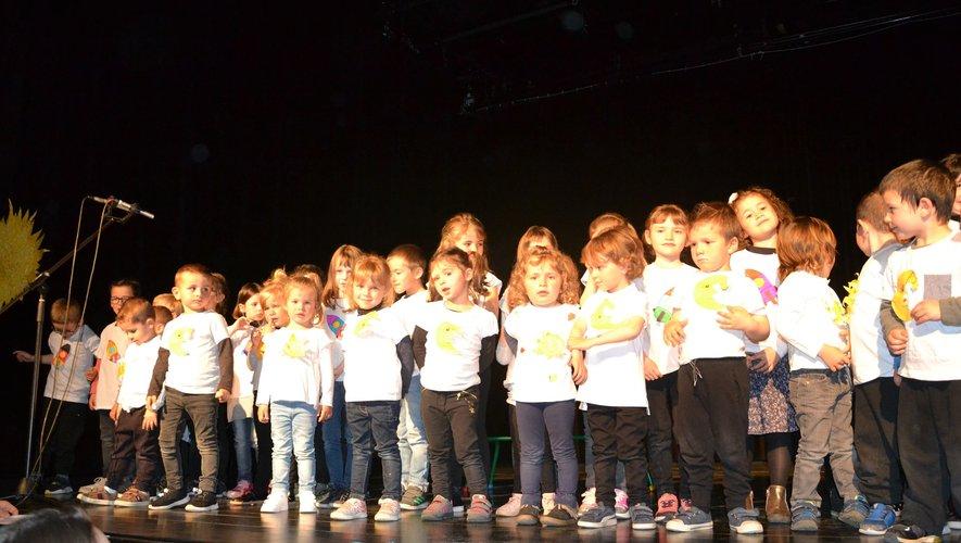 Les petits ont sans surprise reçu un accueil rempli d'enthousiasme et d'émotion.