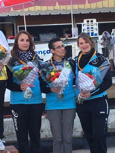 La triplette féminine sera présente au championnat de Ligue.