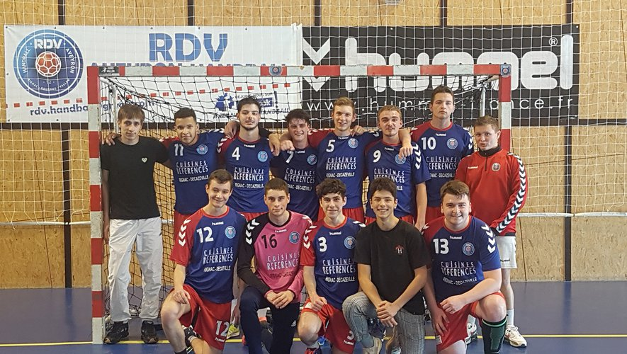 Les 18 garçons demi-finalistes Occitanie.