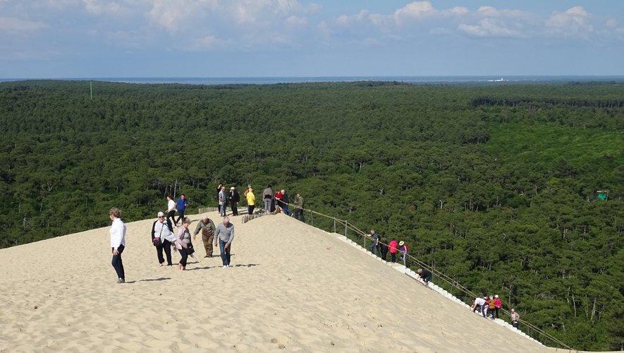 Du haut de cette dune, un paysage à couper le souffle