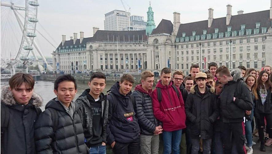 Les lycéens ont découvert les richesses de Londres.