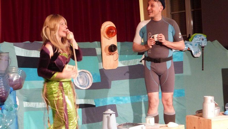 Céline et Fred entraînent le public dans un univers décalé.