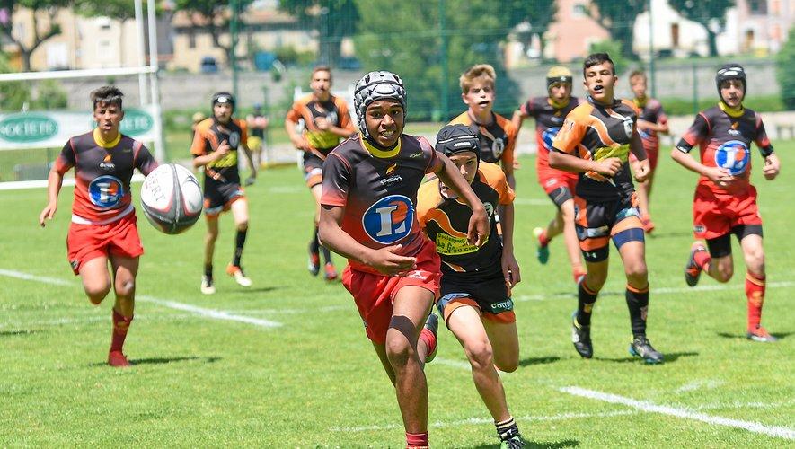 Un jeudi consacré au rugby dans le Millavois
