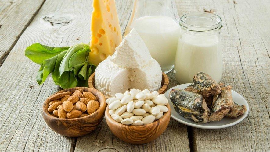 Menus-Santé : du calcium pour des os forts