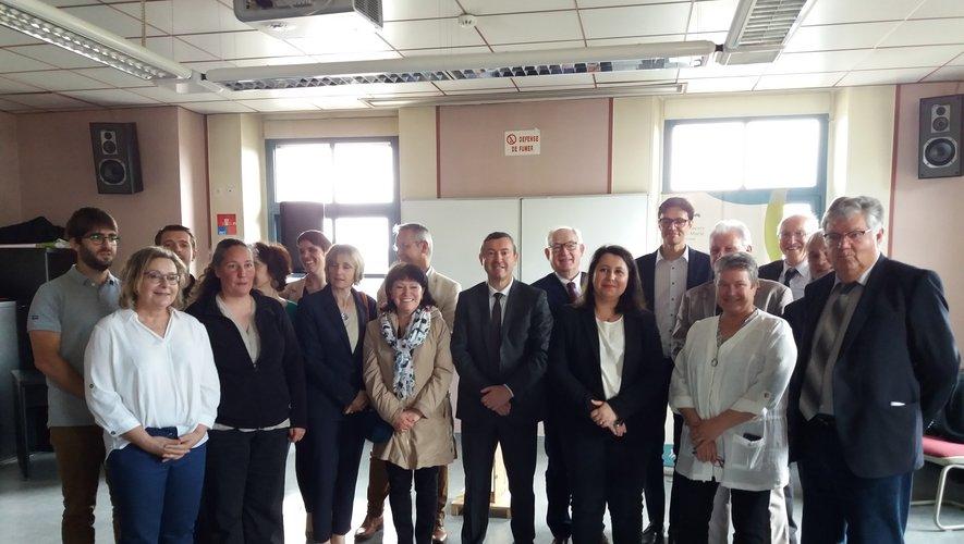 Les porteurs du projet sont fiers de la mise en place de ce service en Aveyron