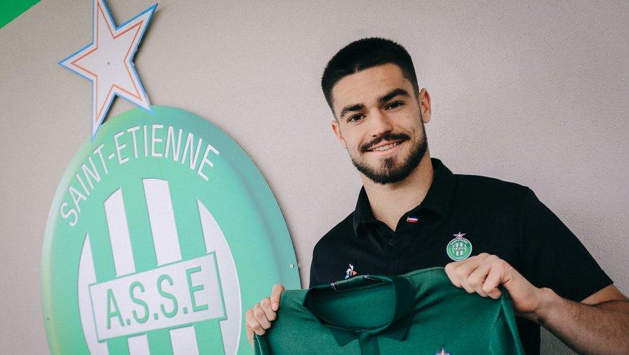 Lucas Llort s'est engagé trois ans avec Saint-Etienne