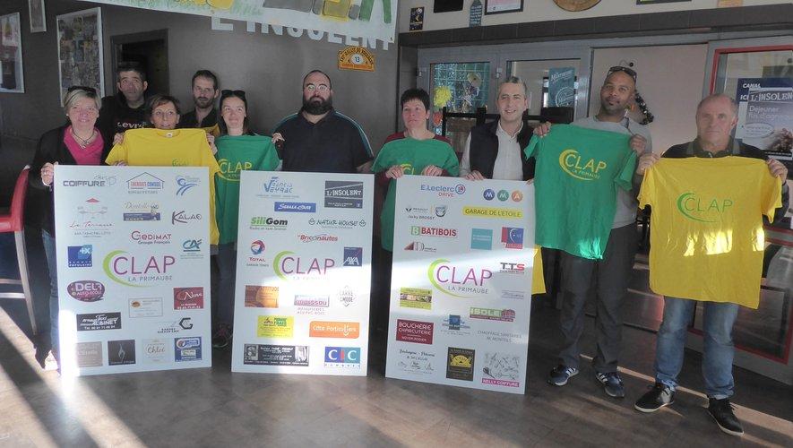 Les adhérents de l'association CLAP.
