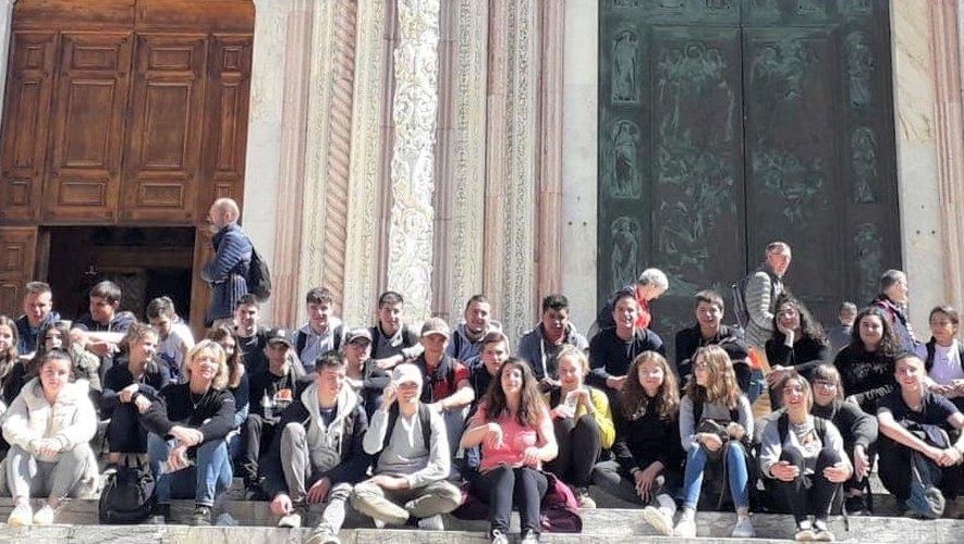 Les élèves de la filière agricole ont découvert les charmes de la Toscane