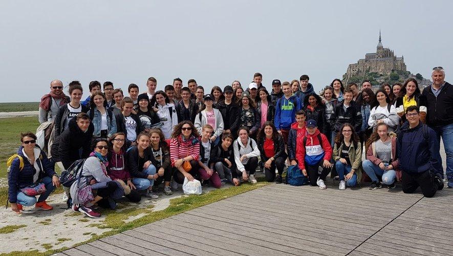 Sans oublier une petite visite au célèbre Mont Saint-Michel….