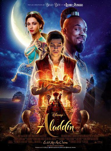 """""""Aladdin"""", inspiré du conte des Mille et une nuits (""""Aladin et la lampe merveilleuse""""), a attiré 563.243 spectateurs entre le 22 et le 28 mai dans 583 salles."""
