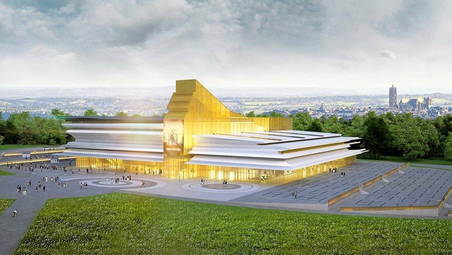 Le futur parc des expos imaginé par Alain Sarfati.