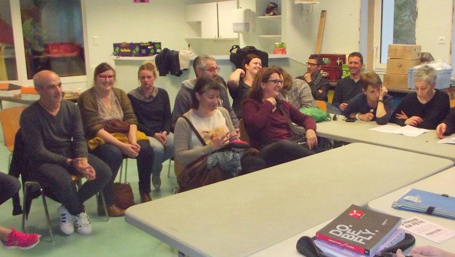 Les membres du comitédes fêtes de La Primaubelors de la dernière réunion.