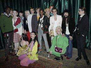 """La maison Gucci a dévoilé son nouveau parfum """"Mémoire d'une Odeur"""" en présence des talents qui participeront à la campagne."""