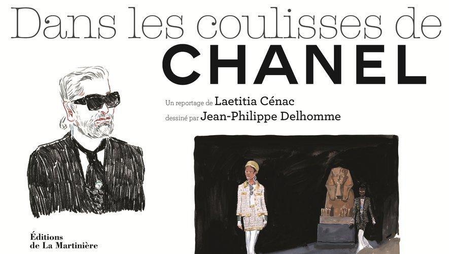 """L'ouvrage """"Dans les coulisses de Chanel"""" par Laetitia Cénac et Jean-Philippe Delhomme - Editions de La Martinière."""