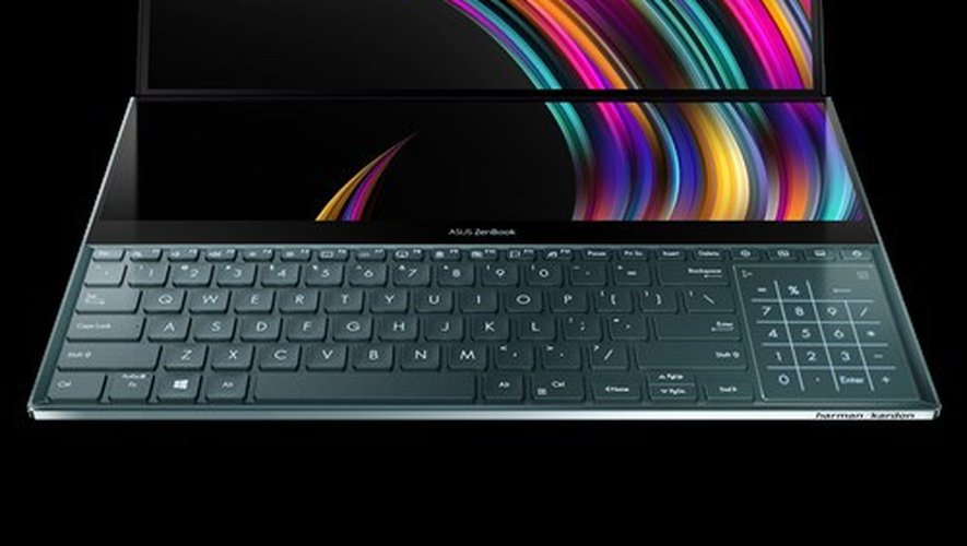 L'ASUS ZenBook Pro Duo.