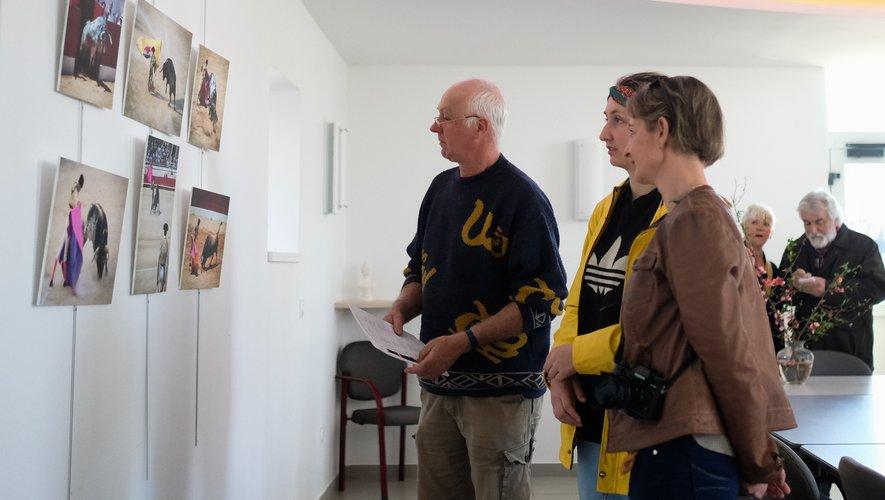 Expo du club Artefact 12, dans la salle du conseil de Castanet.