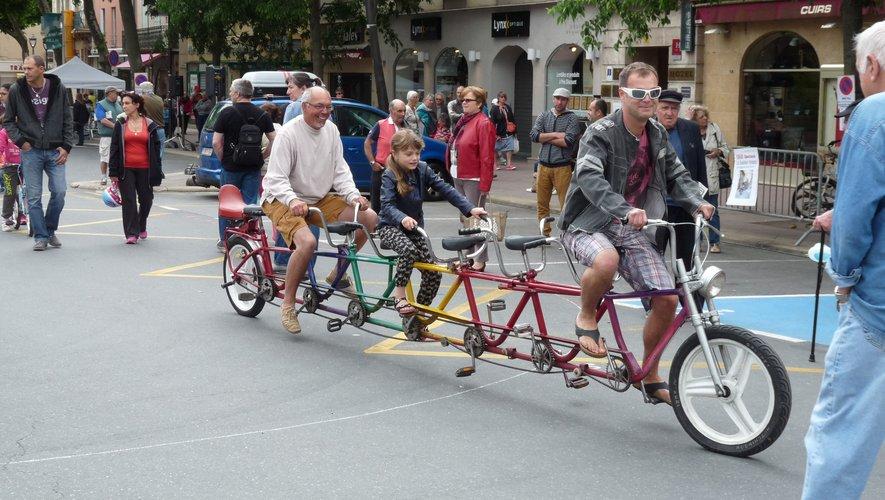 Les « vélos rigolos de Yoyo le clown » devraient être les stars de la journée.