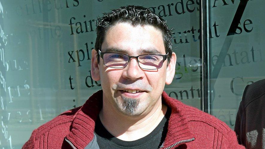 Emmanuel Sales, coprésident du comité sportif aveyronnais de quilles de huit.