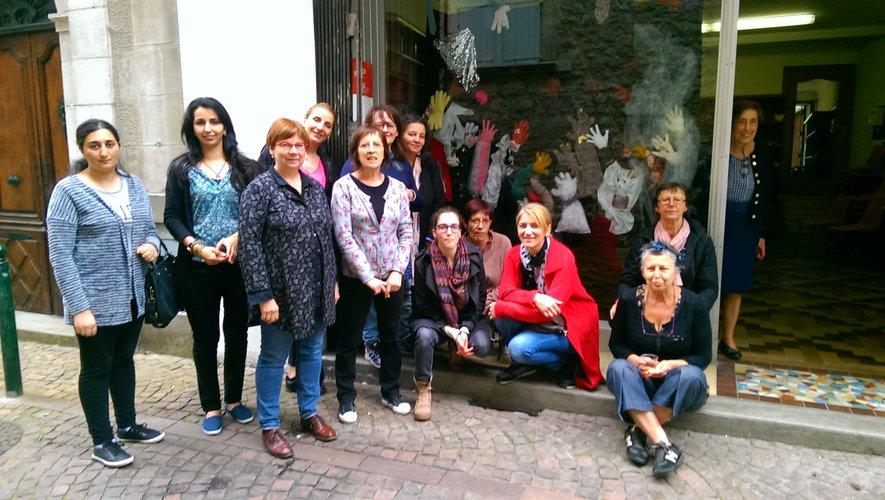"""L'atelier créatif """"Raccomoder"""" a présenté son œuvre collective"""