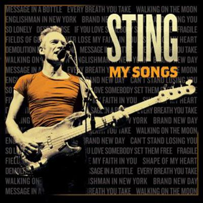 """""""My Songs"""" de Sting est numéro un des ventes à la Fnac."""