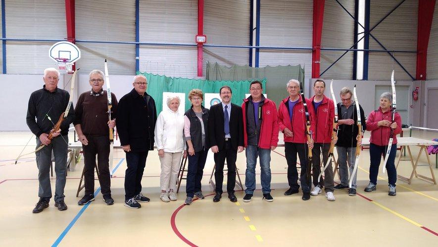Plus de 220 personnes, venus de huit clubs aveyronnais ont échangé autour d'activités physiques et sportives..