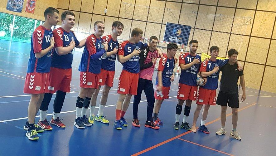 L'équipe des 18 ans garçons.